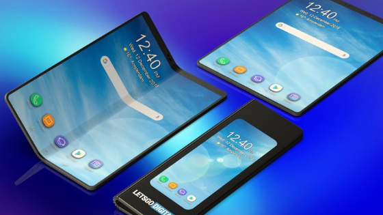 Samsung Galaxy Fold: two new folding smartphones coming?