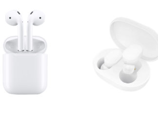What's the difference between Apple AirPods and Xiaomi AirDots Pro?