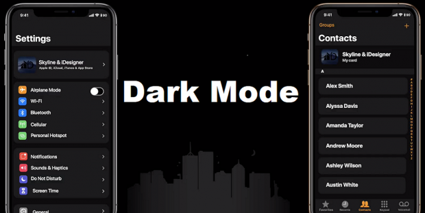 iOS 13 introduces dark Mode, Here is how it works and what changes