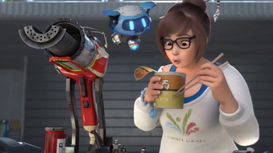 3 tricks with Mei on Overwatch