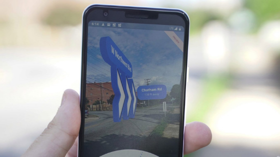 Google Maps in augmented reality: try it now