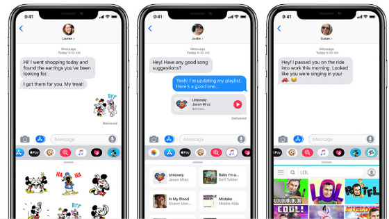 How to add effects to iMessage messages