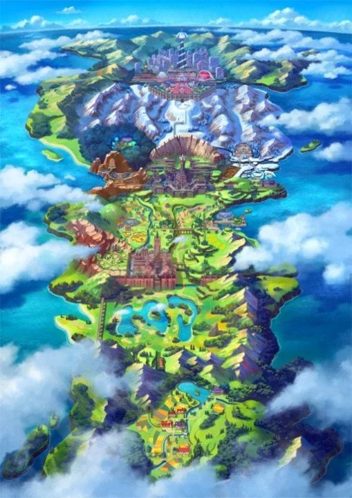 The region of Galar