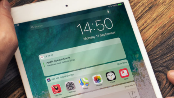 How to add favorite widgets on the iPad
