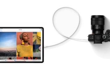 How to use external storage on iPad