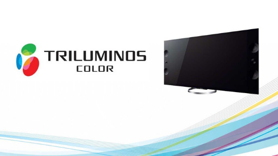 What is a Triluminos display, present in Sony TVs