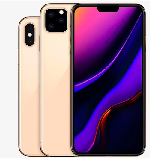 iPhone 2019, design and photos