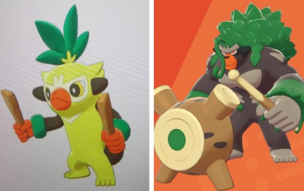 Grookey evaluation