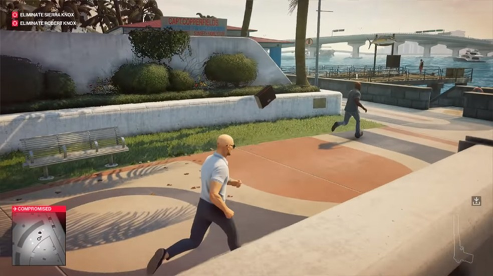Hitman 2's stalking bug bug turned out to be an official weapon in the game