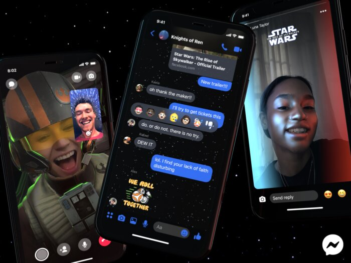 How to enable Star Wars theme in Facebook Messenger