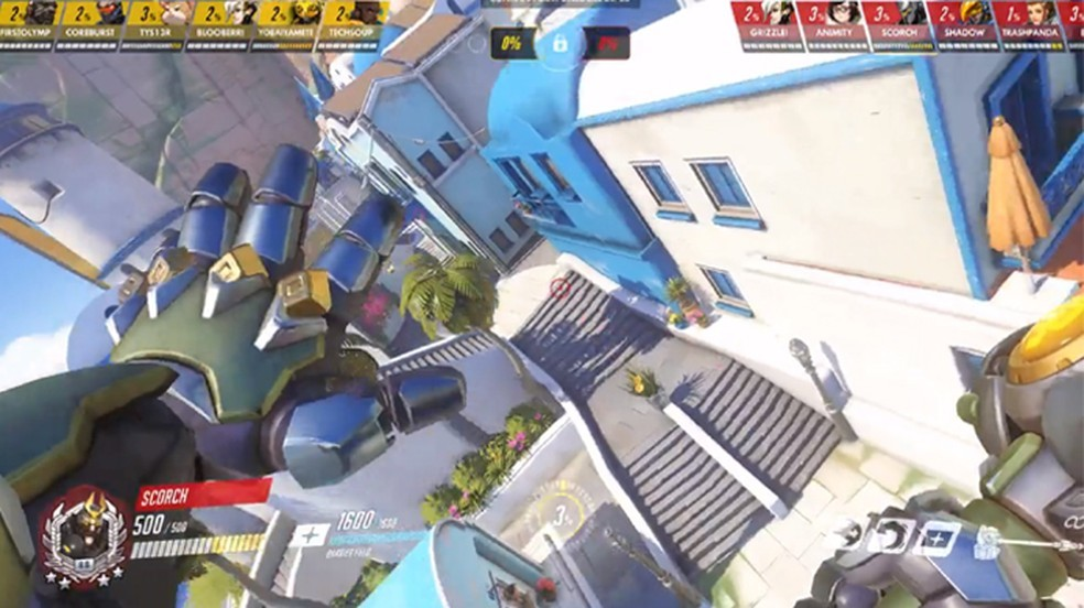 Overwatch bug causes heroes to become crooked and fly because of Mei's ice wall