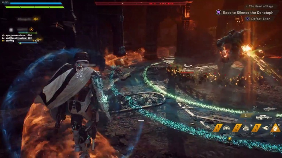 Players were thrown into Anthem's final mission for a quickplay bug