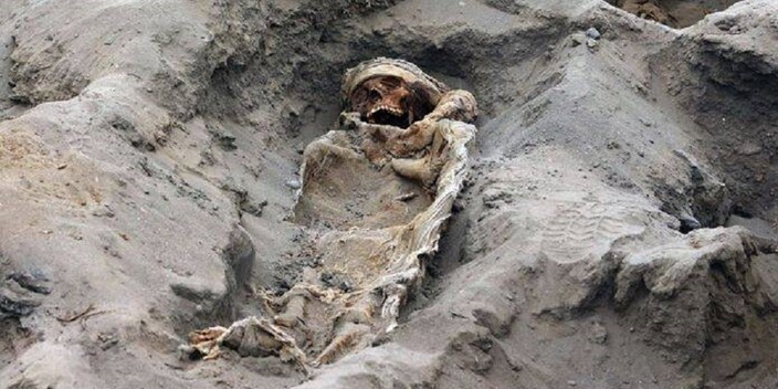 The world's largest mass child sacrifice discovered in Peru