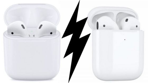 What is the difference between 1st and 2nd generation AirPods