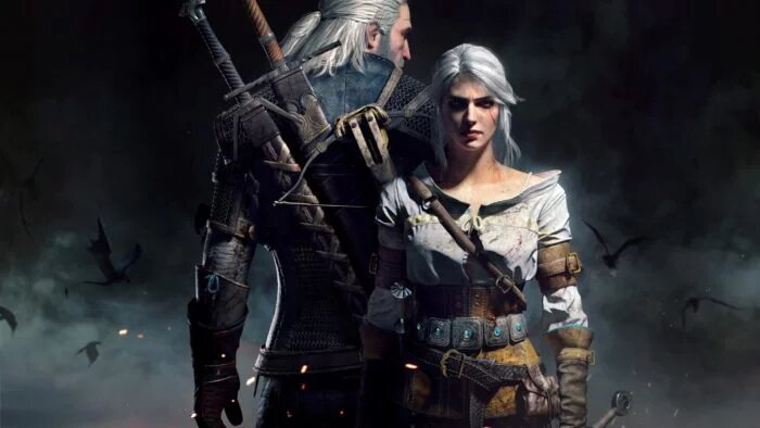 Ciri and Geralt The witcher 3