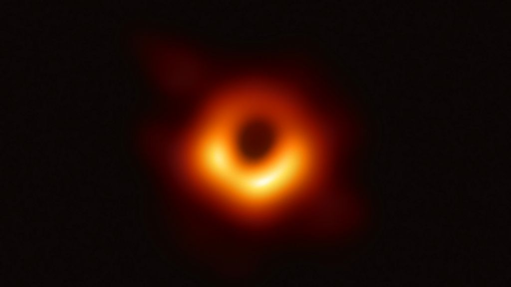 First black hole photographed by mankind