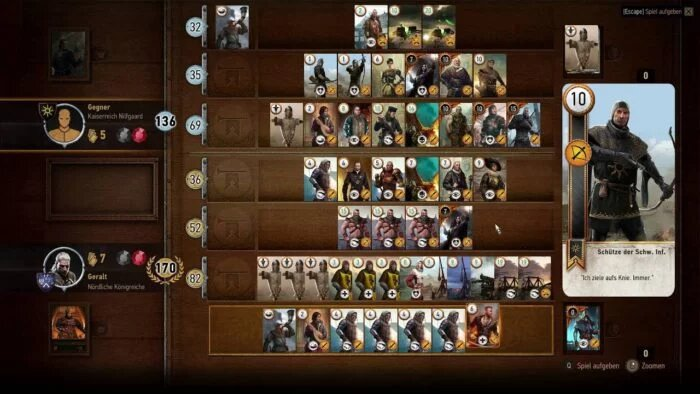 Gwent Cards The Witcher 3-1