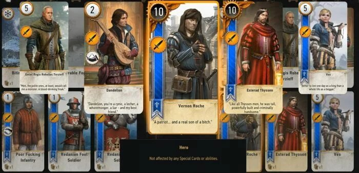 Gwent Cards The Witcher 3-3