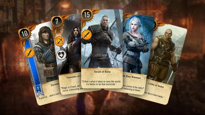 Gwent Cards The Witcher 3