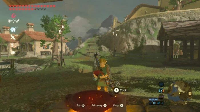 How to make food in Zelda: Breath of the Wild
