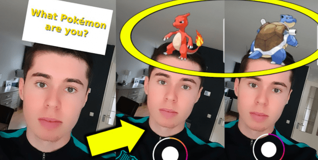 Instagram filter Which Pokémon you are: how to have it