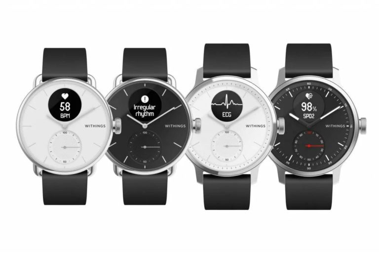 ScanWatch's new smartwatch