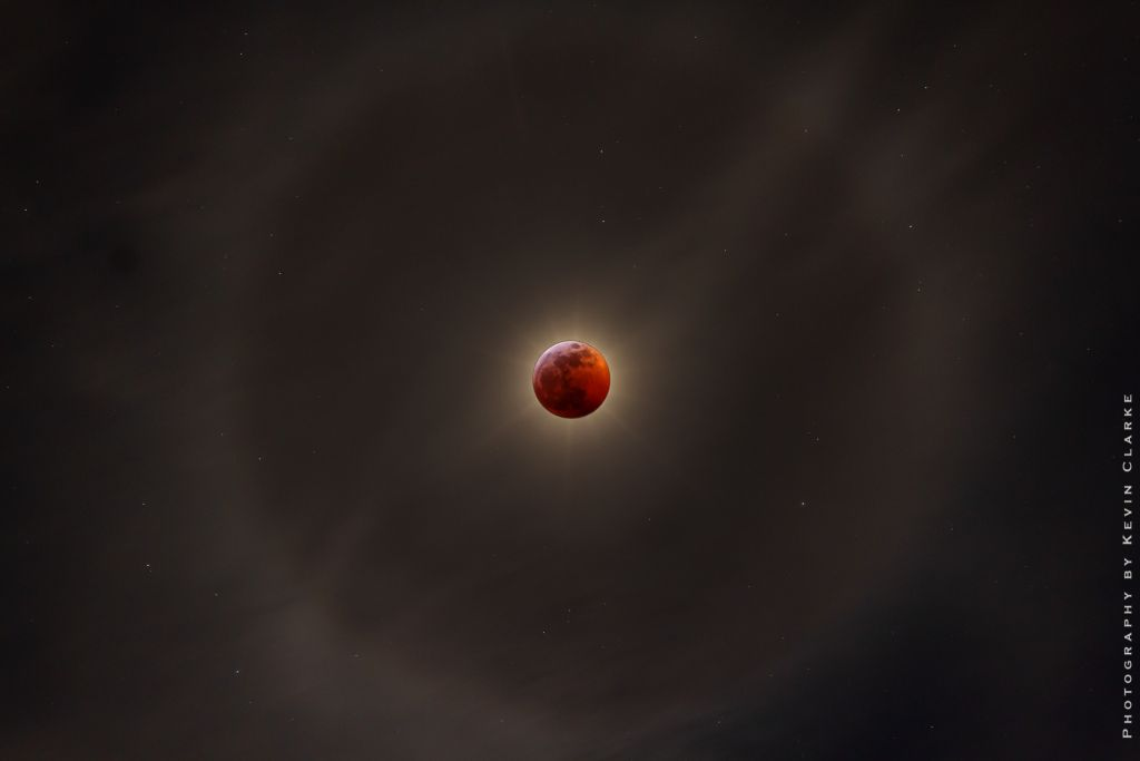 Total eclipse of the sun in January 2019