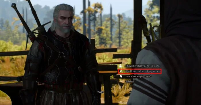 the witcher 3 crafting