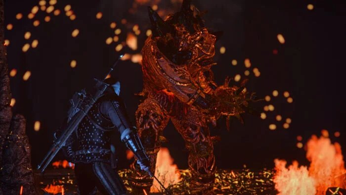 the witcher 3 ifrit