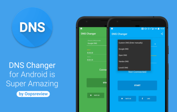 Change DNS on Android 2