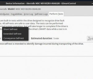 Check the hard disk health in Linux 9