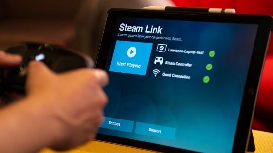 Use the Steam Link App on Android, iOS, Apple TV