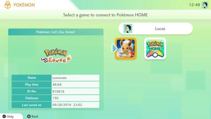 transfer Pokémons to Pokémon Home 2
