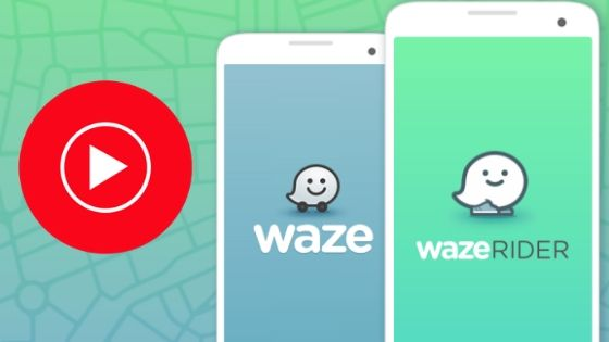 Youtube with waze
