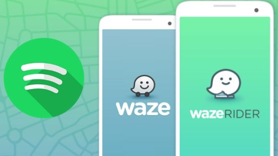 connect Spotify to Waze
