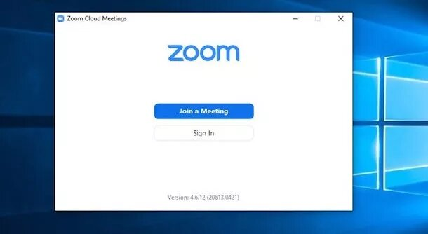 Zoom Windows Client