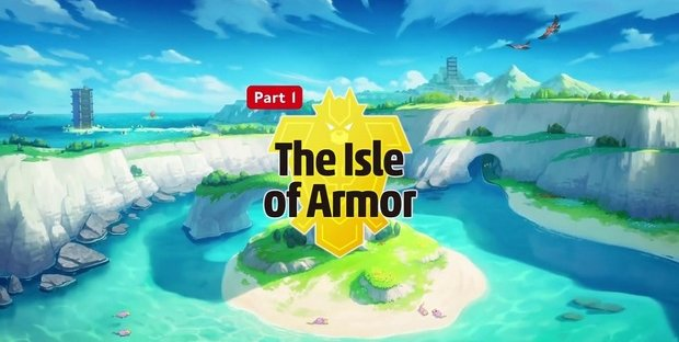Pokémon Sword and Shield The Isle of Armor