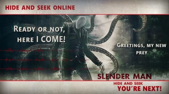 Slenderman hide and seek