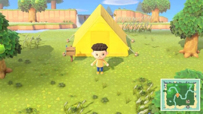 enlarge the house in Animal Crossing - New Horizons 1