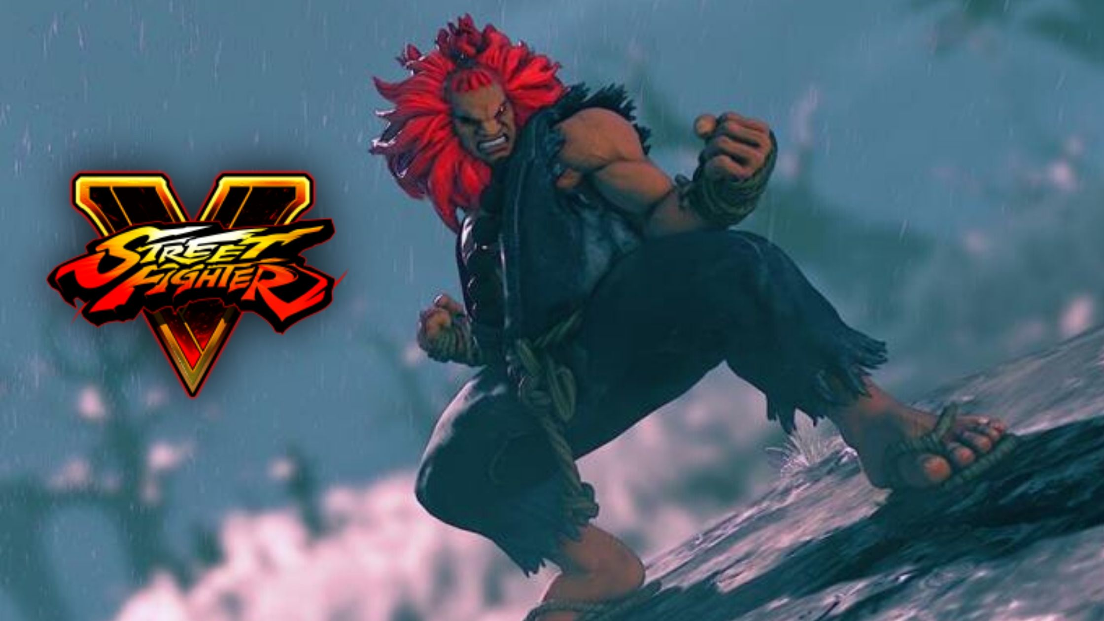 Akuma in Street Fighter V