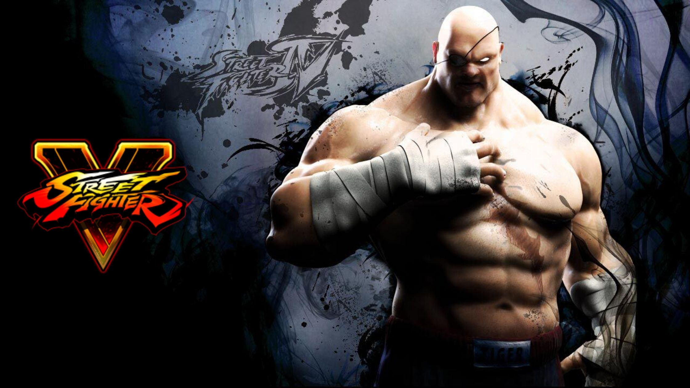 Sagat in Street Fighter V