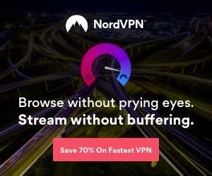 Nord VPN 70% off