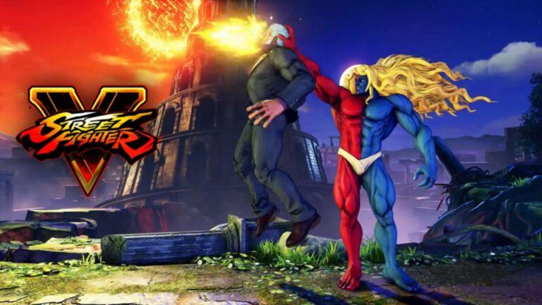 Gill in Street Fighter V