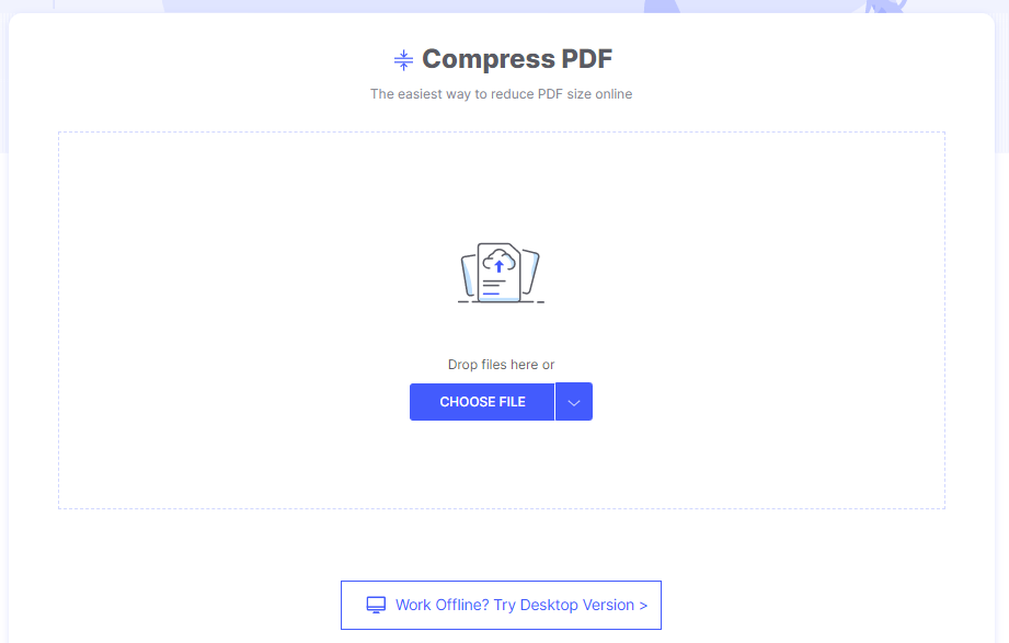 How To Compress PDF Online With HiPDF 3