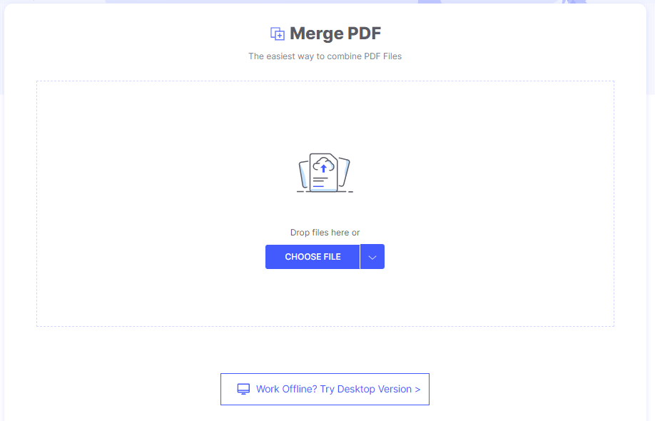How To Merge PDF Online With HiPDF