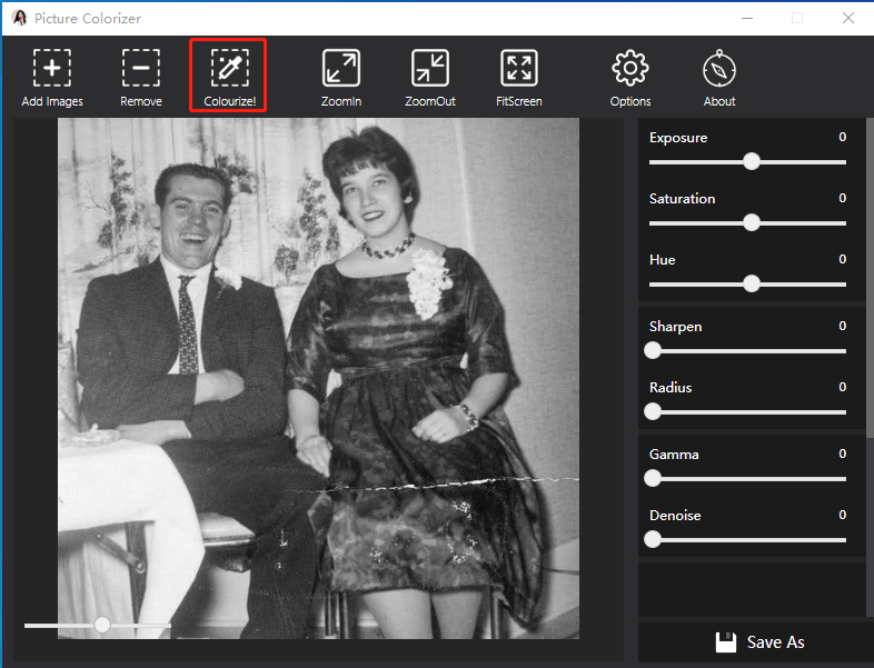 restore the color of black&white images 1