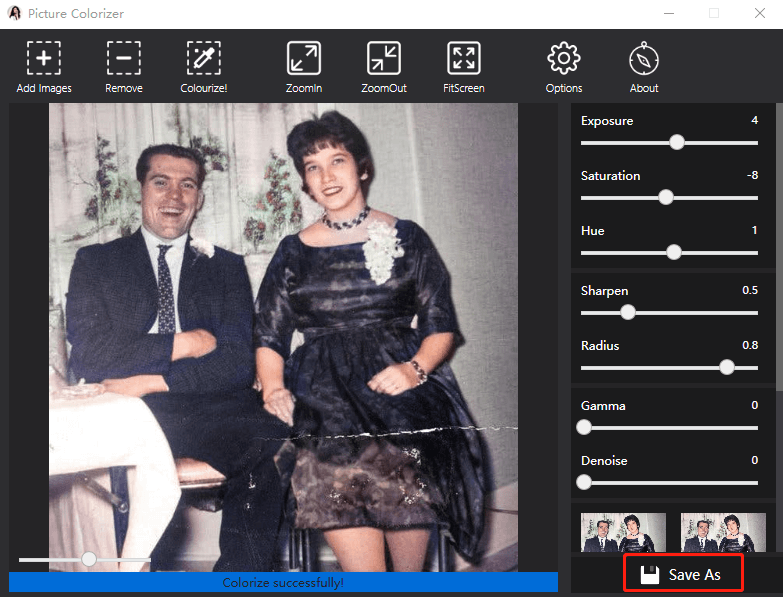restore the color of black&white images 3