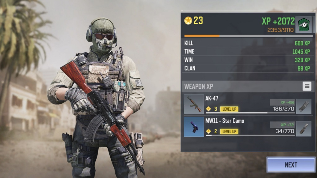 How to earn credits on Call of Duty Mobile 2
