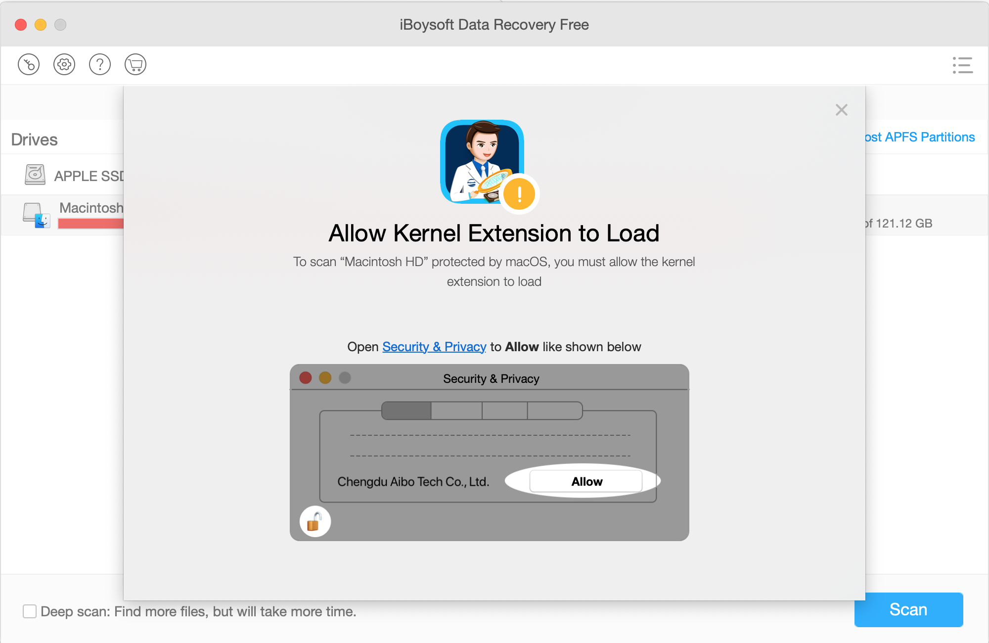 Recover Your Mac Data with iBoysoft Data Recovery 1